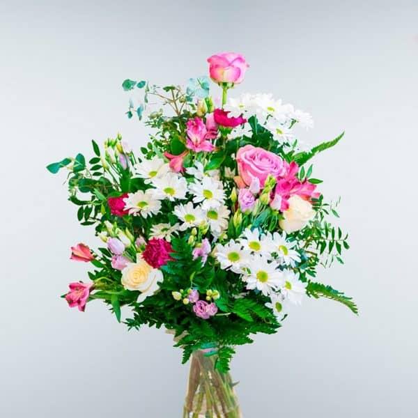 Envío de Ramo de flores Rosaleda a todos los tanatorios de Madrid y Toledo